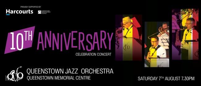 Queenstown Jazz Orchestra 10th Anniversary Celebration