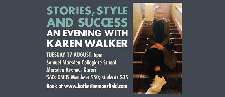 Stories, Style and Success: An Evening with Karen Walker