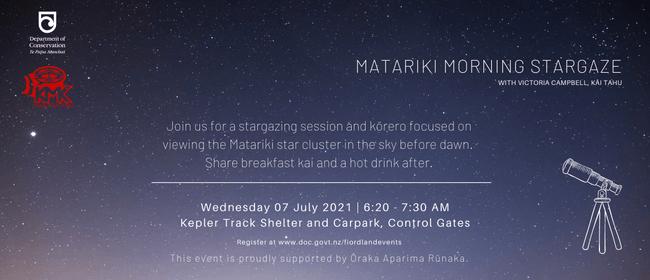 Matariki Morning Stargaze