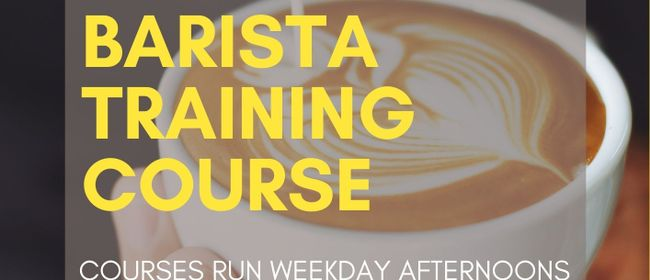 Intensive Barista Course Auckland