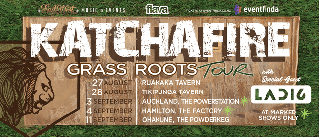 Katchafire with special guest Ladi6