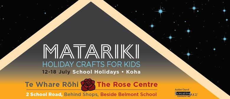 Matariki Crafts : Kids Sessions 4 Koha