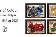 Image for event: Fields of Colour - Christine Hellyar