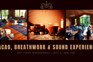 Image for event: Cacao, Breathwork & Sound Healing - Invercargill
