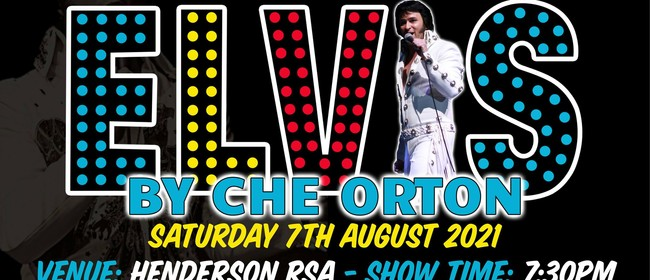 Rockin with Che Orton as Elvis