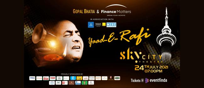 Gopal Bhatia Presents - Yaad-E-Rafi A Tribute to Mohd.Rafi