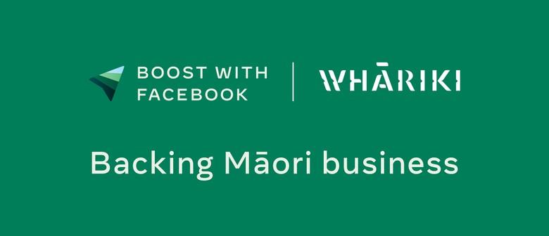 Boost with Facebook ki Waitaha