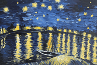 Paint and Wine Night- Starry Night Over The Rhône