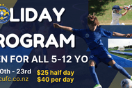 Image for event: Christchurch United Multisport School Holiday Program