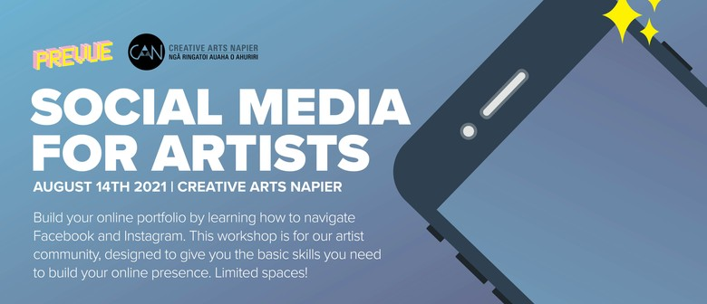 Social Media for Artists Workshop - Step-by-step classes