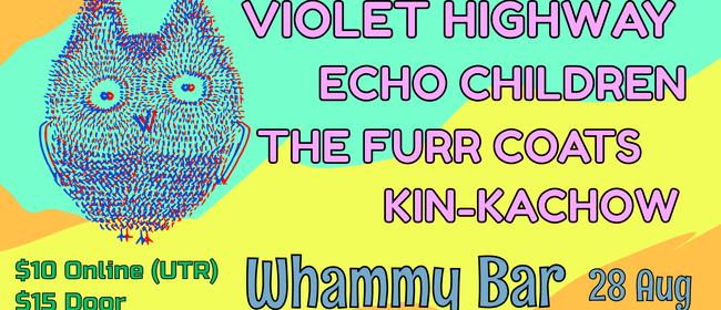 Violet Highway, Echo Children, The Furr Coats, Kin-Kachow