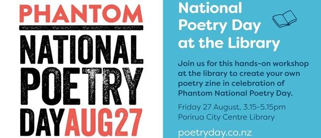 Lucky Dip Poetry Zine Workshop