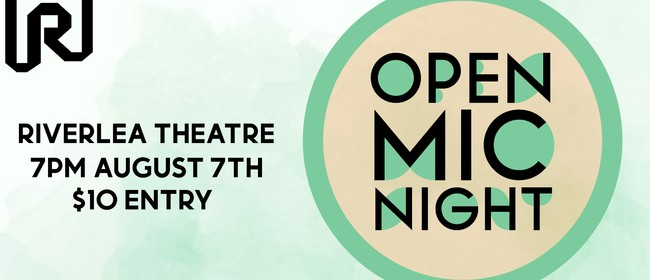Open Mic Night: CANCELLED