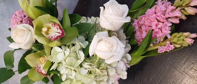 FLOWER WORKSHOP - Sun 25 July 9.30am - 12pm