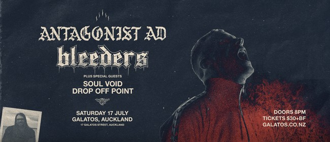 Antagonist A.D. & Bleeders: SOLD OUT