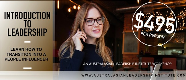 Introduction To Leadership: A Mark Wager Workshop