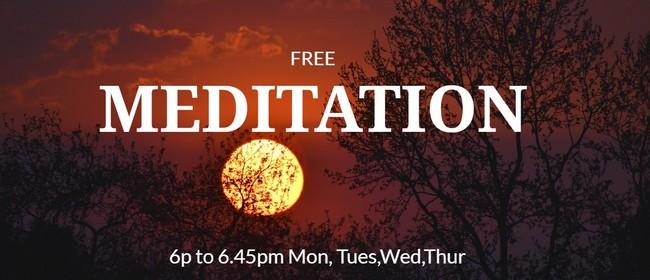 Nelson Buddhist Centre Evening Meditation (FREE)