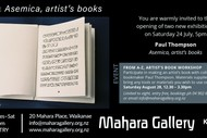 Image for event: Asemica, artist's books