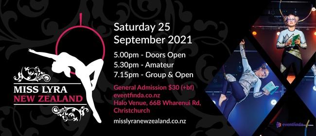 Miss Lyra New Zealand 2021: CANCELLED