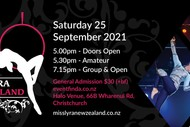 Image for event: Miss Lyra New Zealand 2021: CANCELLED