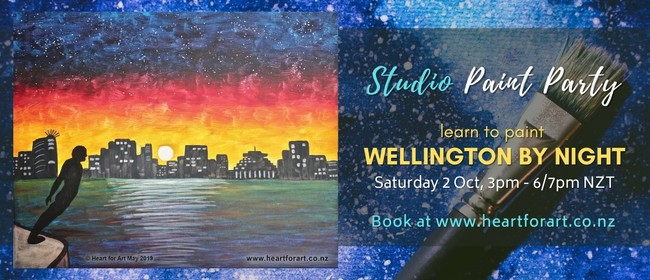 Paint Party - Wellington by Night Painting