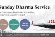 Sunday Dharma Service