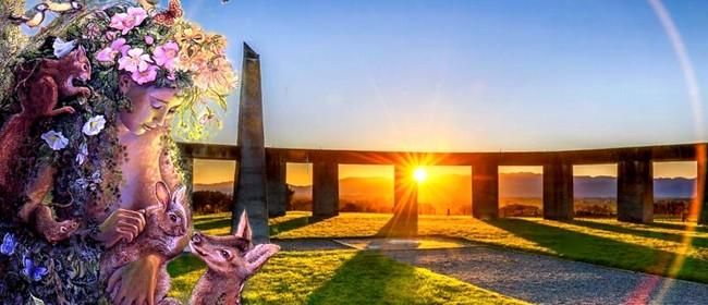 Spring Equinox at Stonehenge Aotearoa