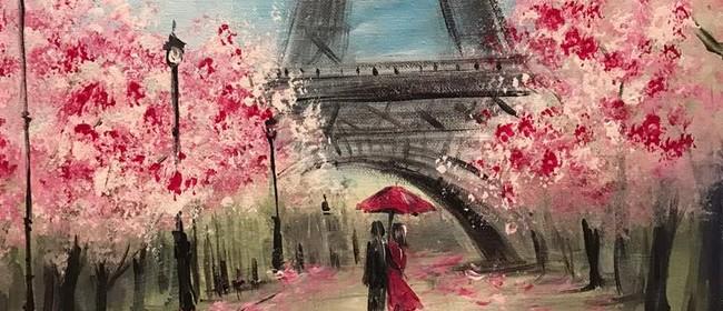 Paint & Chill Friday Night - PARIS!