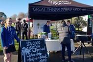 Young Enterprise Scheme Day at Hawke's Bay Farmers'  Market