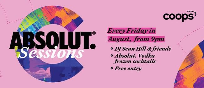 Coops Corner Pub presents: Absolut. Sessions