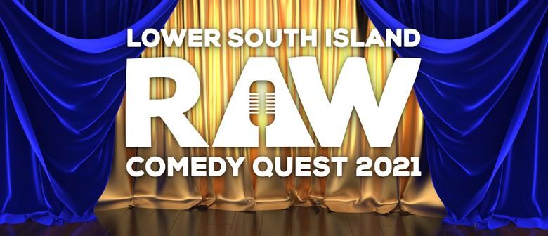 RAW Comedy Quest 2021 - Dunedin