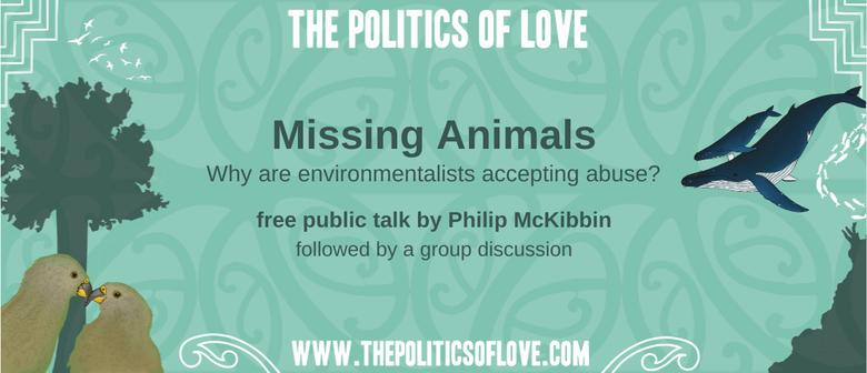 Public Talk: Missing Animals