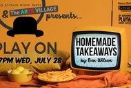 Image for event: PLAY ON: Homemade Takeaways by Ben Wilson
