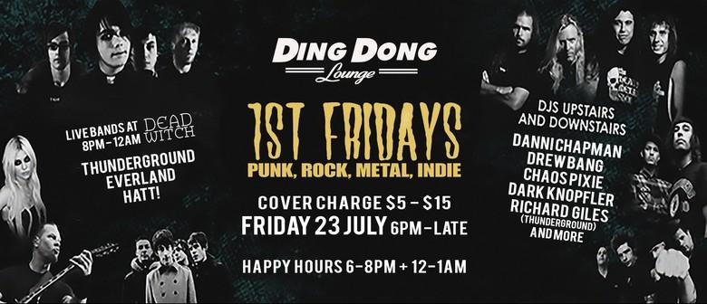 1st Friday - Punk, Rock, Metal, Indie