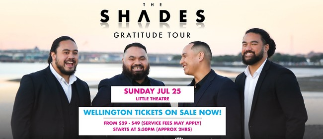 The Shades - The Gratitudes Tour