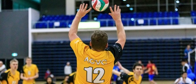 Social Indoor Volleyball - Full Court Mixed 6s - From ACVC