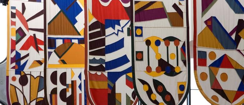 Gordon Crook Banners - Public Art Talk