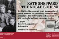 Fireside Chat: Kate Sheppard - The Noble Bohemian