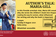 Fireside Chat: Author's Talk - Maria Gill