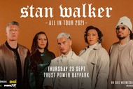 Image for event: Stan Walker - All in Tour: POSTPONED