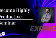 Image for event: Become Highly Productive & Increase Results (Seminar): CANCELLED