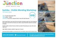 Sashiko - Visible Mending Workshop
