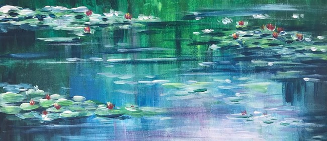 Paint & Chill Sunday Bubbles Arvo - Monet Water Lily!
