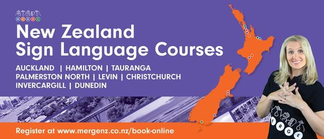 NZSL Beginners 1c and 1d - Dunedin
