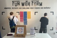 Interactive Wall: Fun with Form