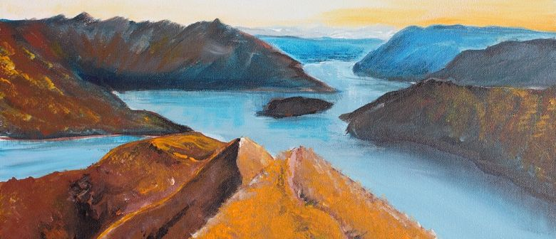 Paint and Wine Night - Roy's Peak