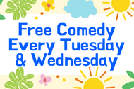 Image for event: Live Stand Up Comedy Every Week