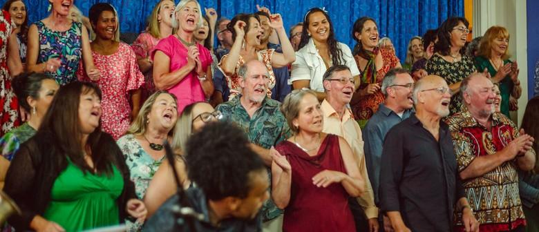 Hawke's Bay Soul Choir at Spaceship