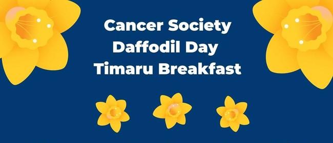 Cancer Society Daffodil Day Timaru Breakfast