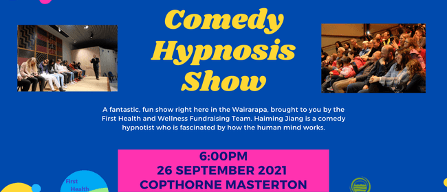 Comedy Hypnosis Show: CANCELLED